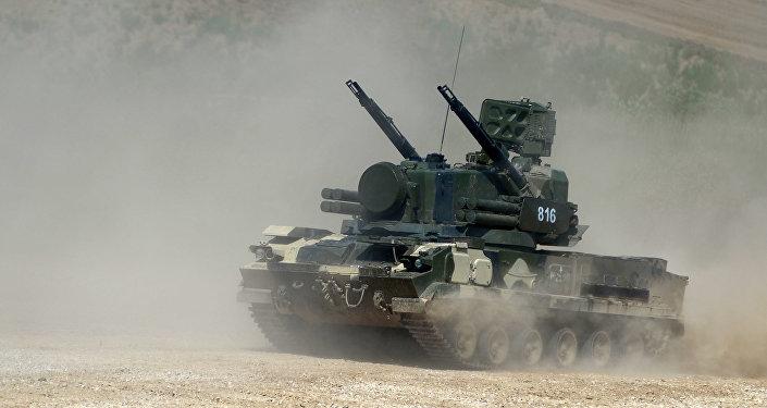 Raketový komplet Tunguska