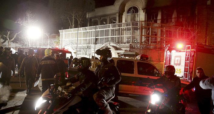 Útok na velvyslanectví Saúdské Arábie v Íránu