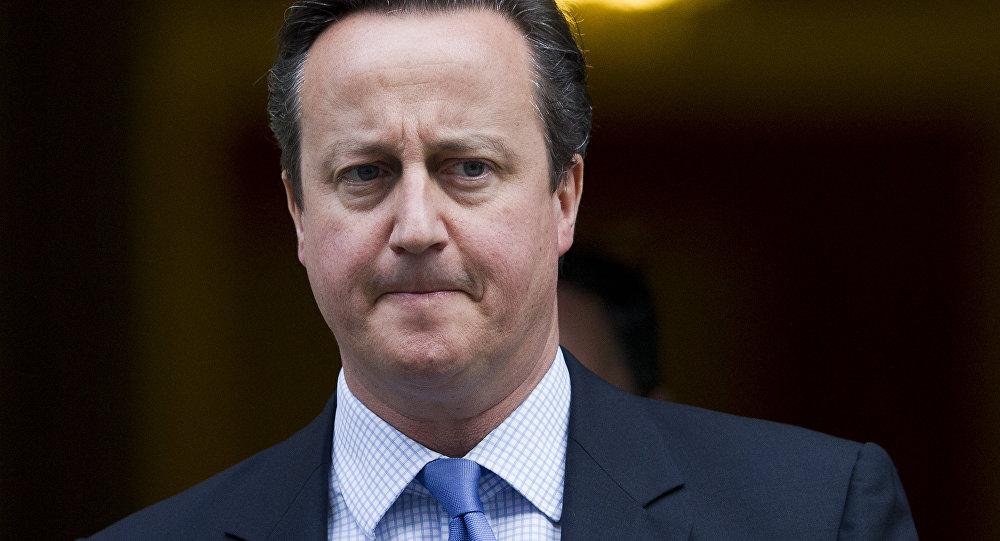 Premiér Velké Británie David Cameron