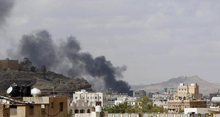 Letecký útok v Jemenu