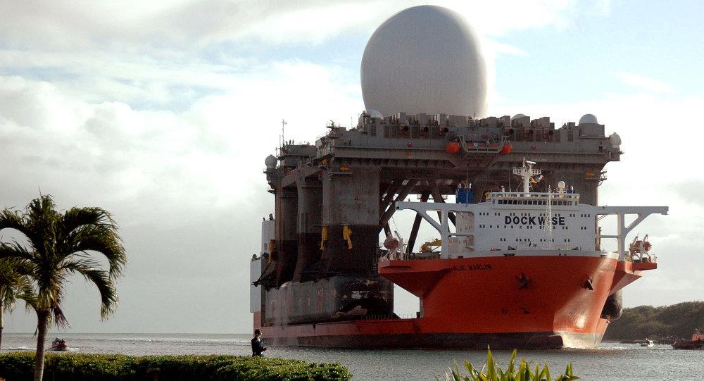 Plovoucí radiolokační komplex SBX (Sea Based X-Band)
