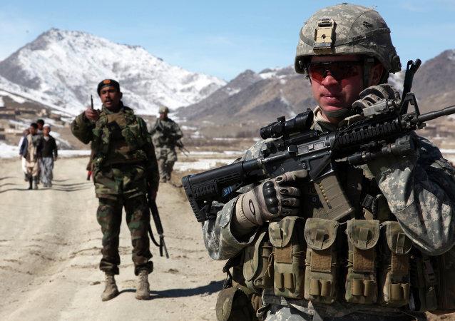 Vojáci USA a Afghánistánu
