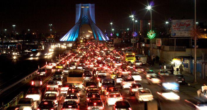 Teherán v noci