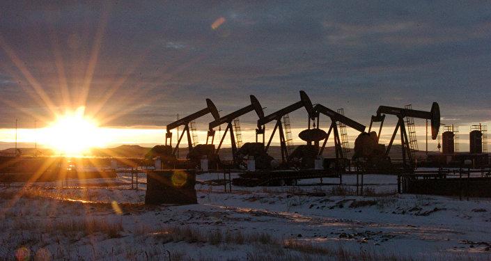 Těžba ropy v Severní Dakotě