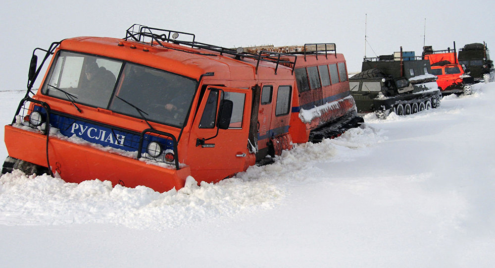 Terénní vozidlo TTM-4902 Ruslan
