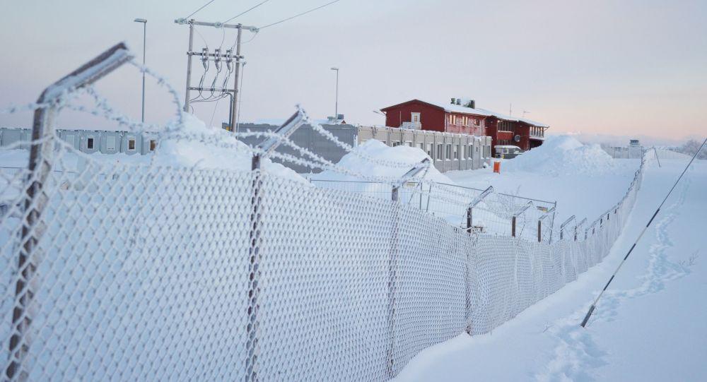 Tábor pro uprchlíky v Kirkenesu
