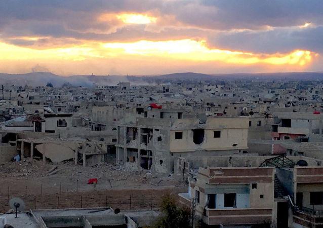 Předměstí Damašku