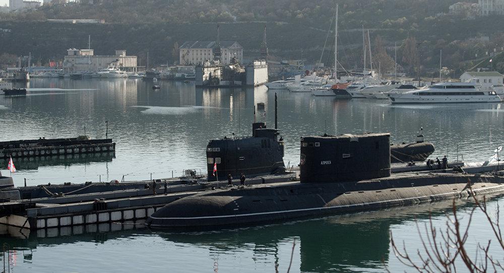 Bývalá ukrajinská ponorka Zaporožje