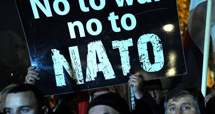 Protestní akce proti NATO