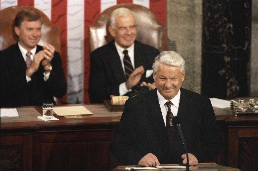 Boris Jelcin. 85. narozeniny