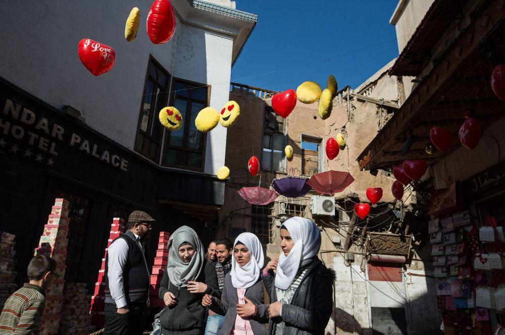 Mírový život Damašku