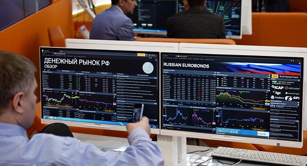 Grafy akciových indexů. Ilustrační foto