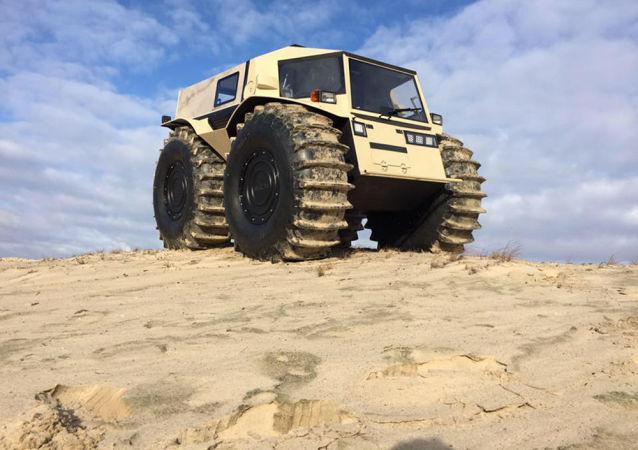 Ruské terénní vozidlo Sherp