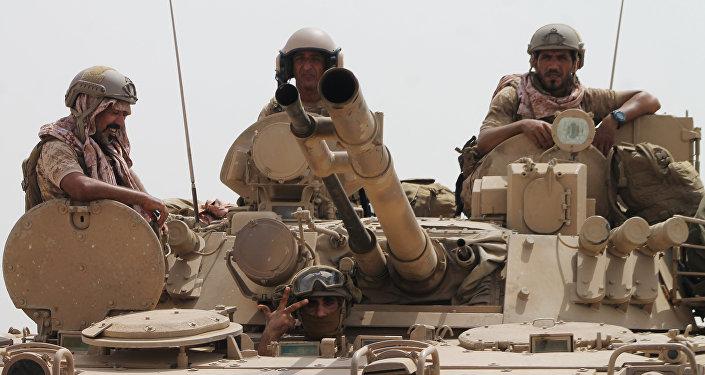 Saúdští vojáci