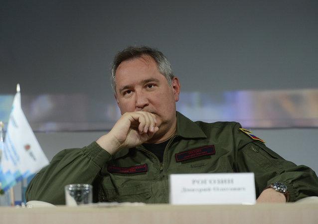 Vicepremiér Ruska pro obranný průmysl Dmitrij Rogozin