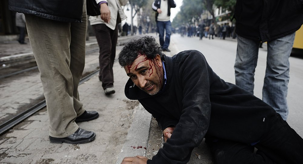 Nepokoje v Tunisku během arabského jara