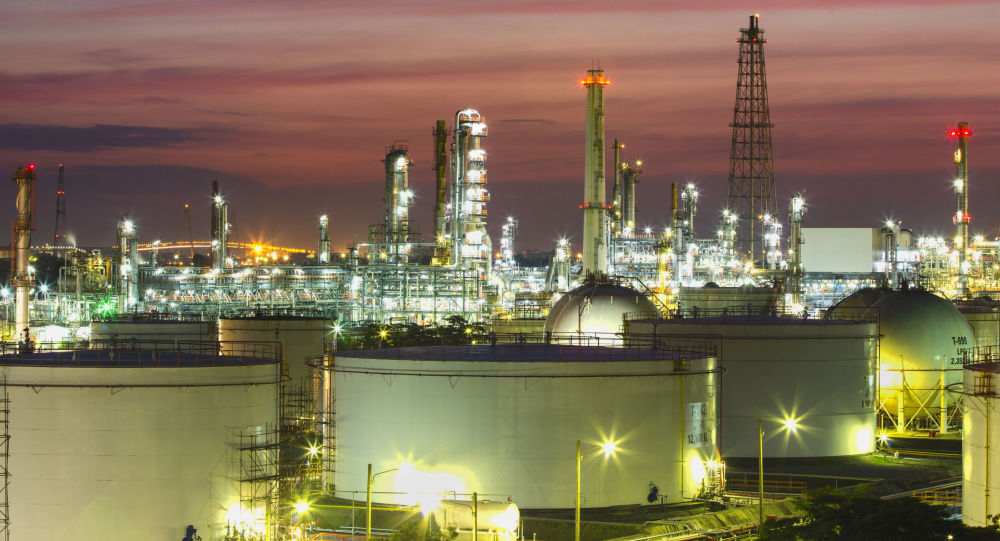 Závod na zpracování ropy
