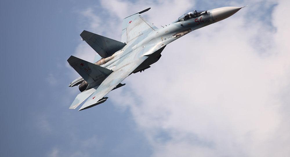 Ruská stíhačka Su-27