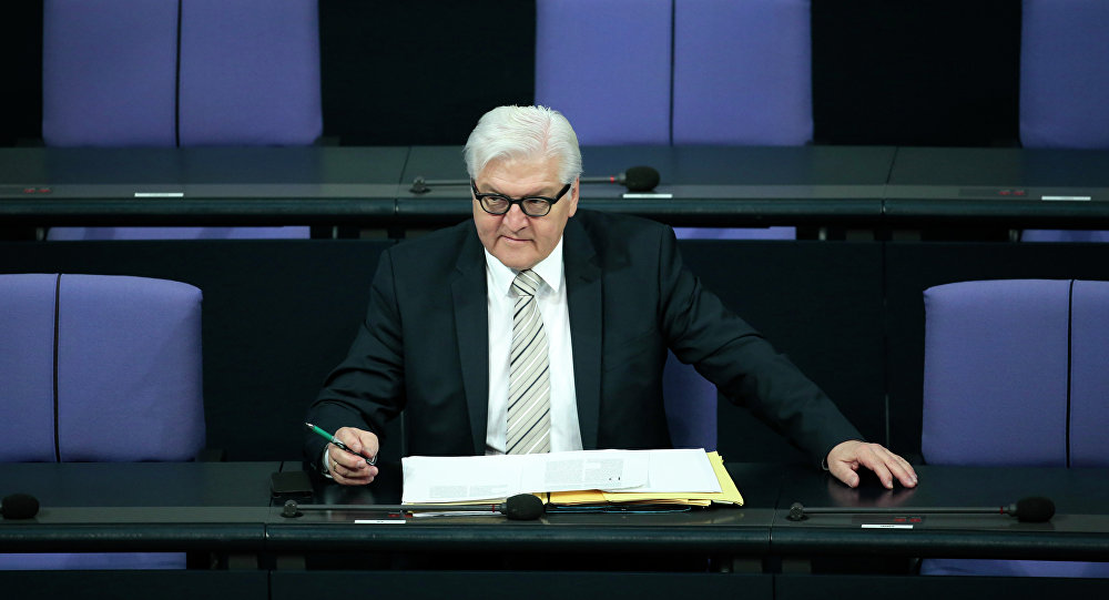 Ministr zahraničních věcí Německa Frank-Walter Steinmeier