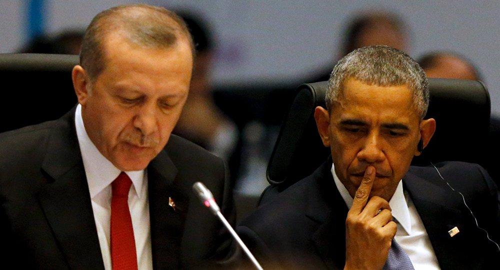 Tayyip Erdogan a Barack Obama