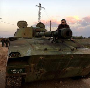 Syrská vojenská technika