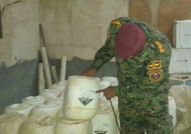 Chemické zbraně Daiš v Iráku