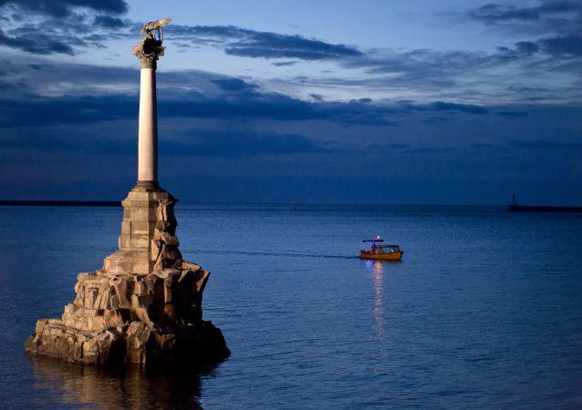 Sevastopol - Pomník potopeným lodím