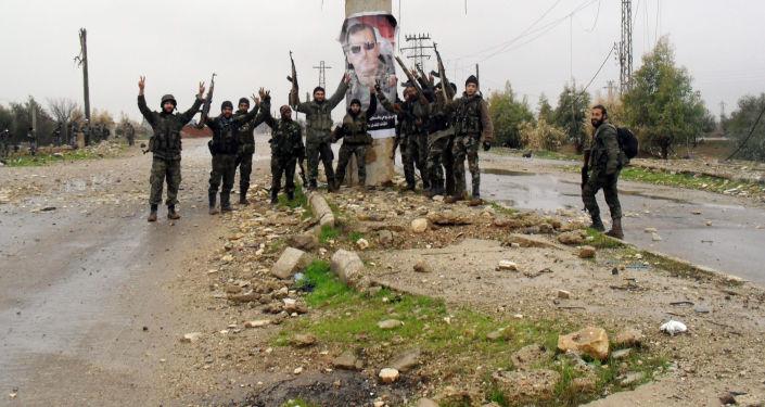 Syrští vojáci v provincii Daraa