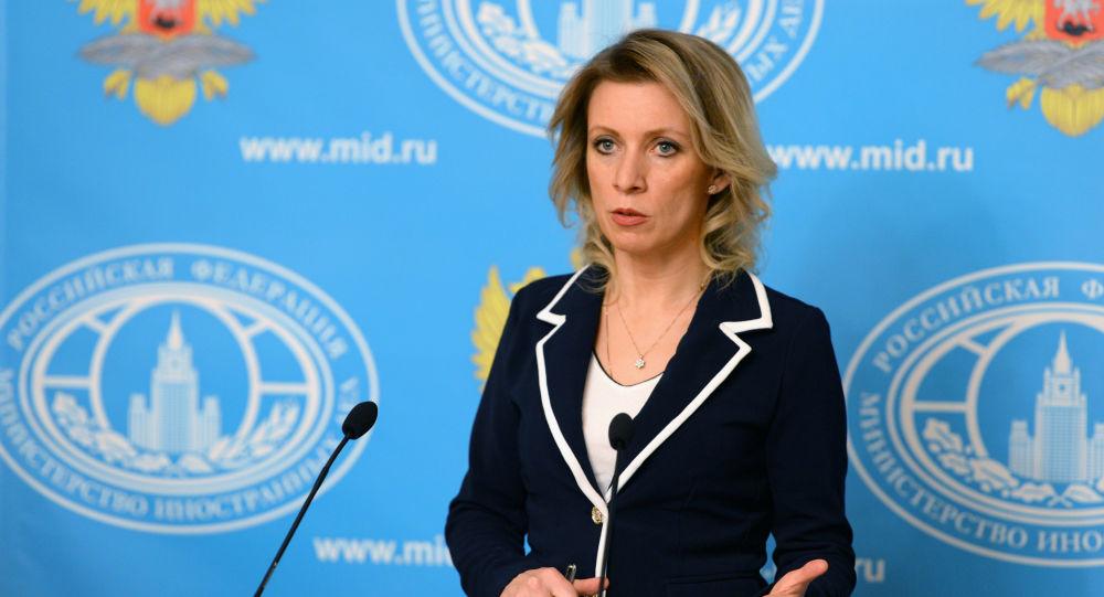 Mluvčí ruského ministerstva zahraničních věcí Maria Zacharorová