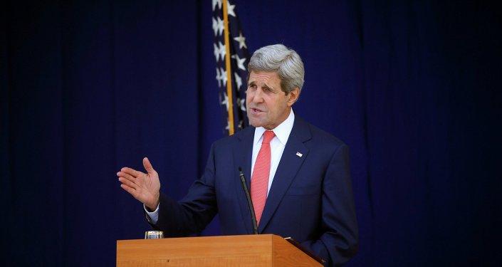 Ministr zahraničí USA John Kerry