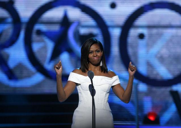 První dáma Spojených států amerických Michelle Obamová