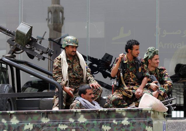 Povstalci-Hútíové v Jemenu