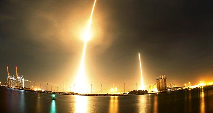 Start rakety SpaceX Falcon 9