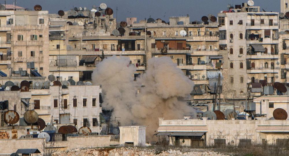 Ostřelování, Aleppo