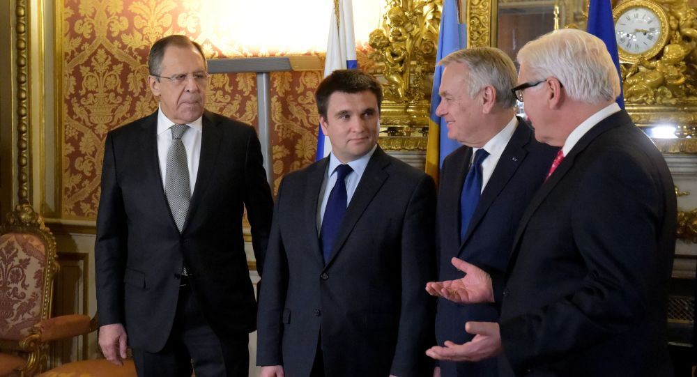 Schůzka ministrů zahraničí v normandském formátu