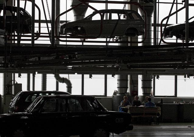 Automobilka AutoVAZ v Toljatti