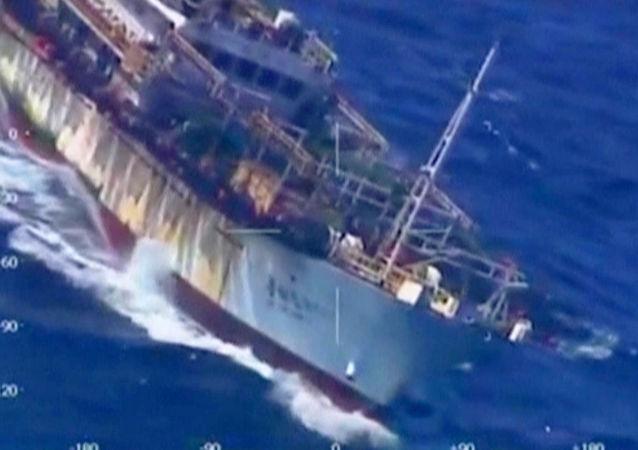 Čínská loď Lu Yan Yuan Yu-010 v Argentině