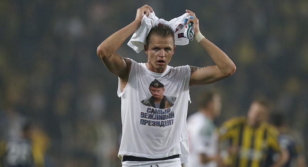 Fotbalista Dmitrij Tarasov