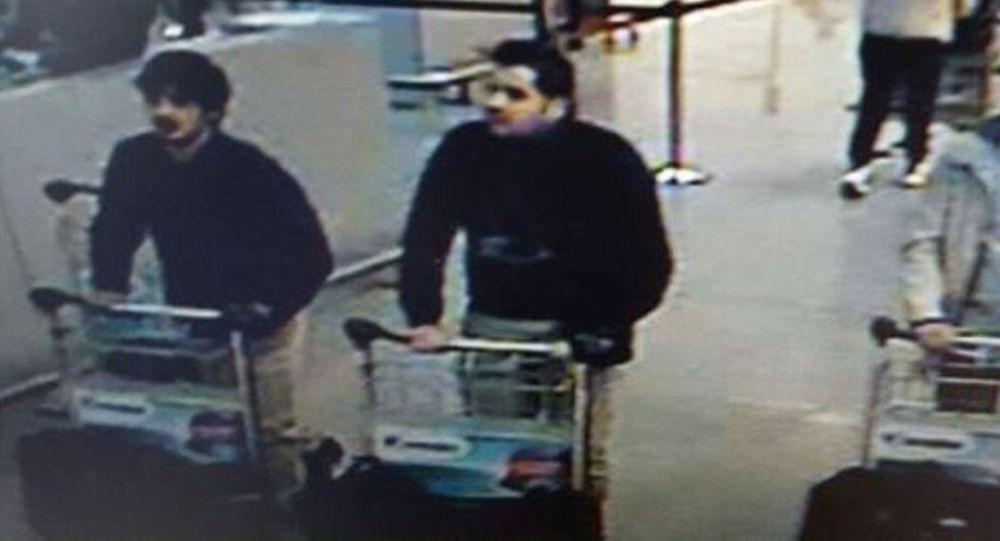 Bratři Ibrahim a Khalim Bakrauiovi, podezřelí ze spáchání teroristických činů v Bruselu