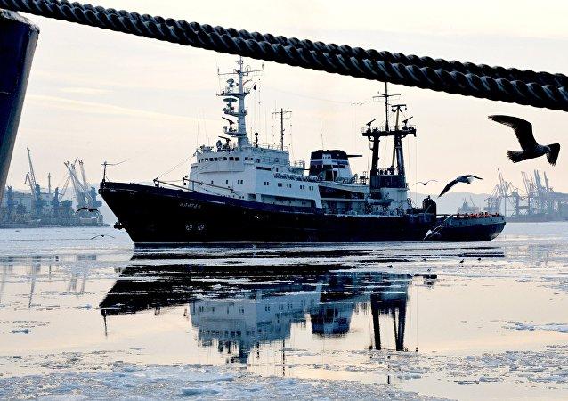 Loď Alatau, Vladivostok