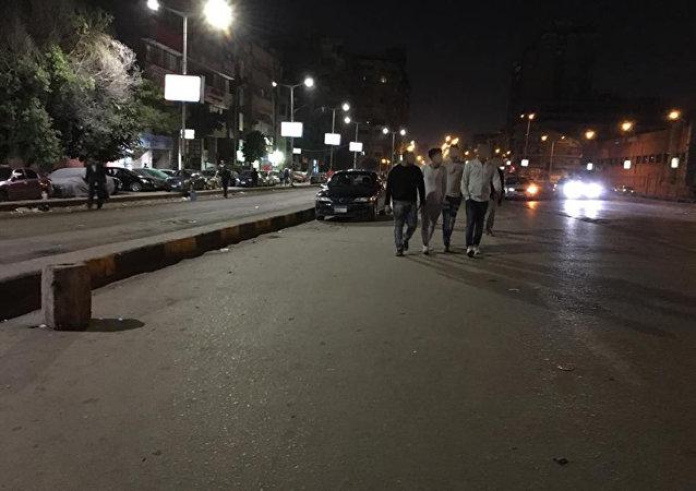 Noční muži v Egyptu