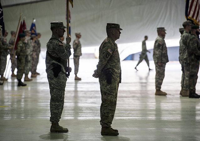 Vojáci na základně Bondsteel v Kosovu