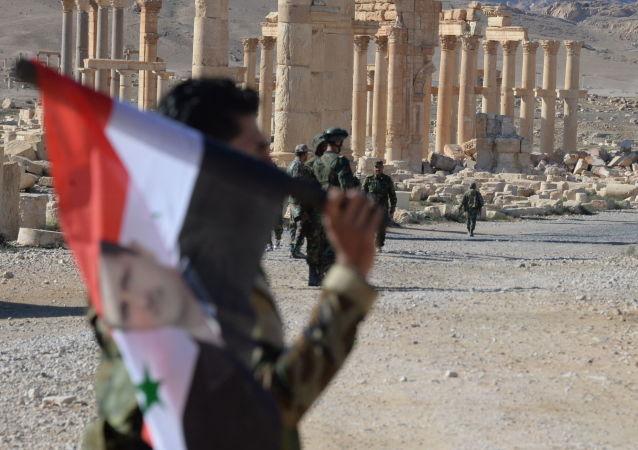 Historická část Palmýry