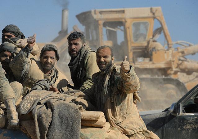 Syrská armada kontroluje křesťanské město Karajtín