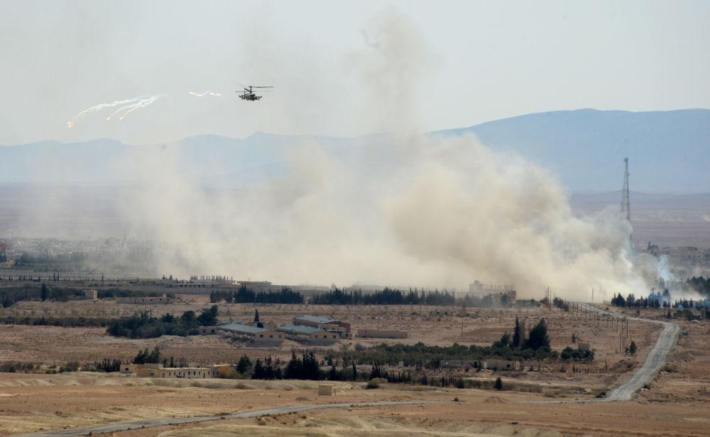 Bojové použití ruských Aligátorů v Sýrii