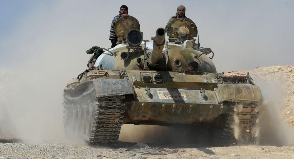 Syrská armáda. Arcivní foto