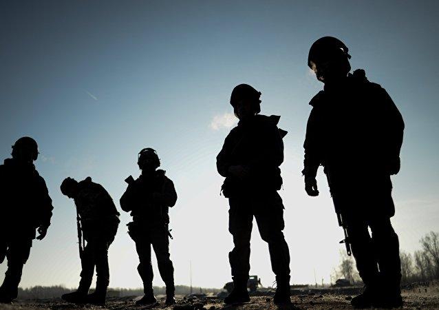 Vojáci ruských speciálních jednotek