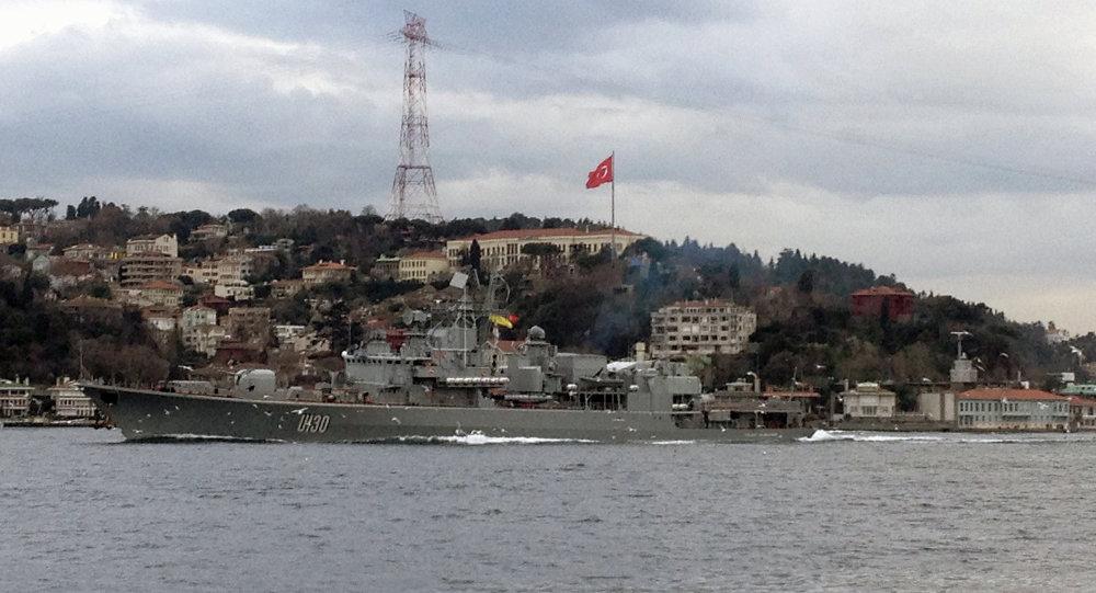 Ukrajinská fregata Hetman Sahajdačnyj