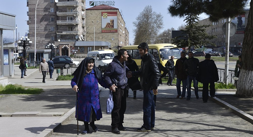 Jak žije hlavní město Náhorního Karabachu