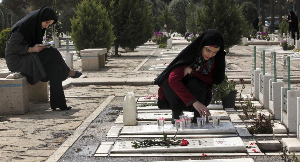 Hřbitov v Teheránu